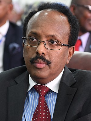 President of Somalia - Image: Mohamed Abdullahi Farmajo (cropped)