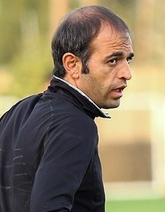 Moharram Navidkia - Navidkia in Sepahan training