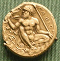 Moneta d'argento di naxos, 410 ac. circa.JPG