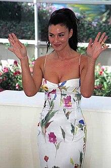 Monica Bellucci al Festival di Cannes 2002