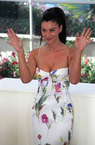 Monica Bellucci - Monica Bellucci at the 2002 Cannes Film Festival for the promotion of Irréversible