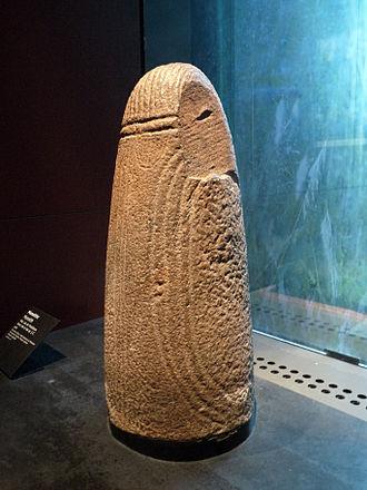 Jules Brévié - Monolith found by Brévié in Mali, now in the Musée du quai Branly
