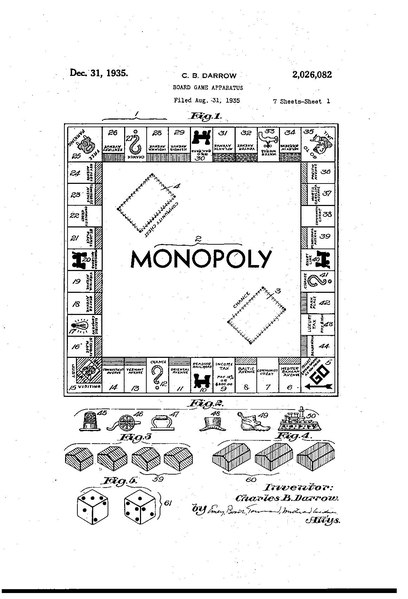Plik:Monopoly board game patent (US2026082).pdf