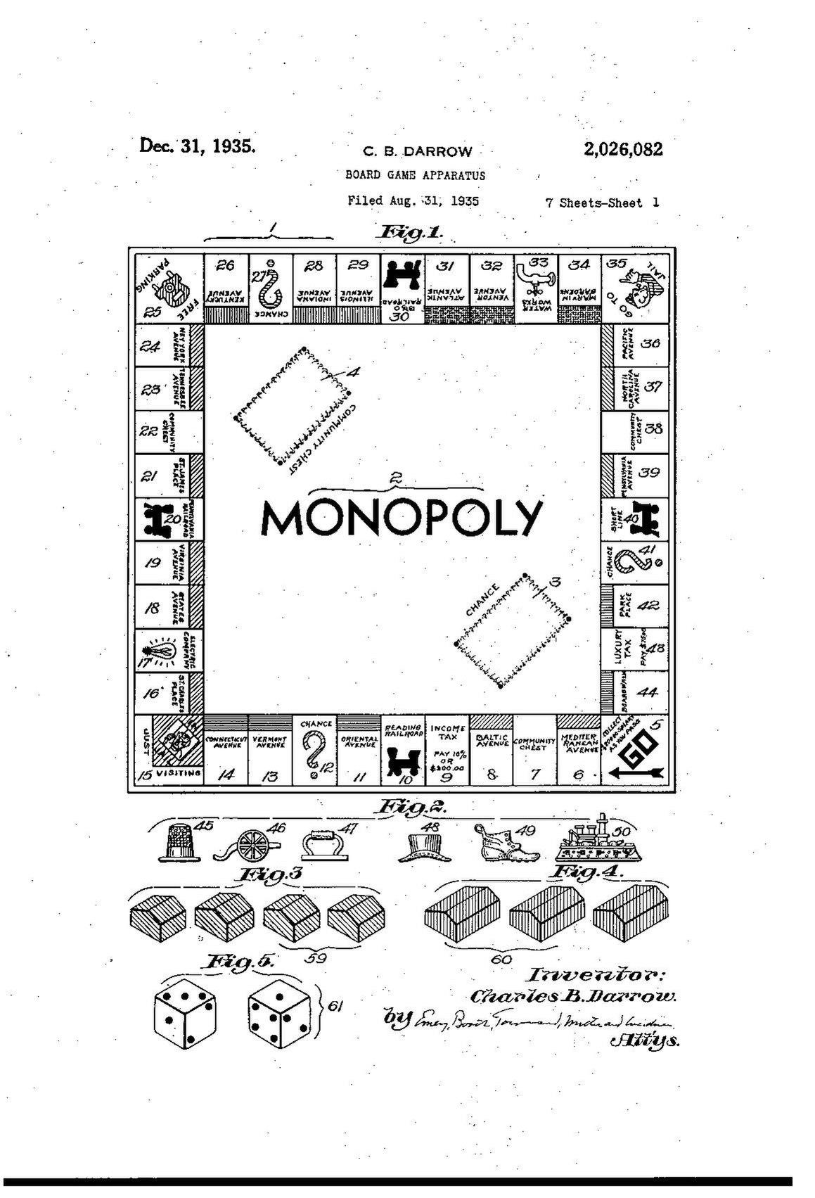 Monopoly Board Game Pdf