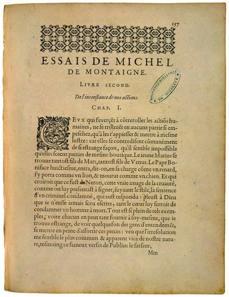 File:Montaigne - Essais, Éd de Bordeaux, 2.djvu