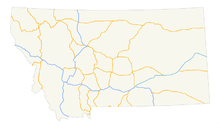 Montana highways map.png