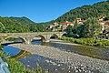Montebruno, il ponte vecchio sul Trebbia - panoramio.jpg