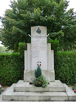 Ars-sur-Formans - The War Memorial