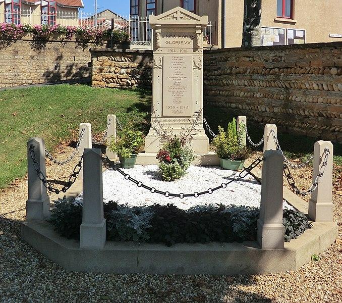 Monument aux morts de Massieux.