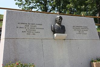 Jean Gilles (French Army officer) - Gilles Monument in Mont-Louis