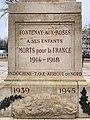 Monument morts - Fontenay-aux-Roses (FR92) - 2021-01-03 - 3.jpg
