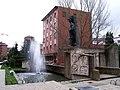 Monumento al Minero y edificio de Correos (Guardo) - panoramio.jpg