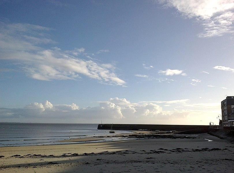 Morbihan Saint-Pierre-Quiberon Plage Port Orange 13012014