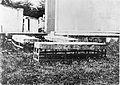 Mortsafes in Cluny graveyard, Aberdeenshire. Wellcome L0012142EA.jpg
