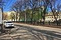 Moscow, Pokrovsky Boulevard, telephone exchange building prepared to demolition (30879638740).jpg