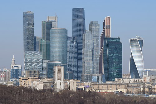 MIBC, one of the largest financial centres in Europe Moscow International Business Center-1.jpg