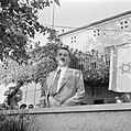 Moshe Sharett, de eerste minister van buitenlandse zaken van de staat Israel, tu, Bestanddeelnr 255-1438.jpg