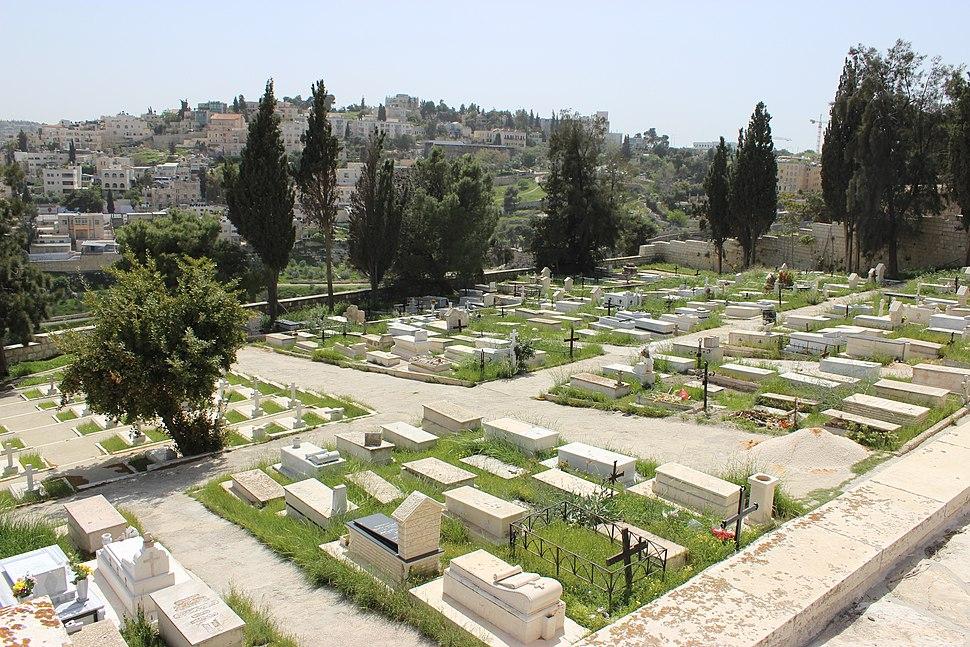 Mount Zion Franciscan Cemetery Jerusalem 03326