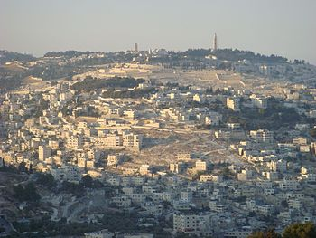 English: Mount of Olives, from Sherover-Hass-G...
