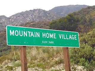 Mountain Home Village, California Unincorporated community in California, United States