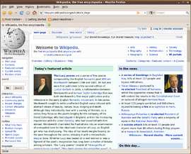 Screenshot di Mozilla Firefox 3.5