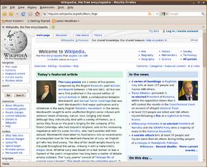 Firefox 3.5 - Image: Mozilla Firefox 3.5