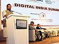 "Mukhtar Abbas Naqvi addressing at the ""Digital India Summit – Role of Cooperative Banks in adopting and advancing the Prime Minister's Flagship Digital India Program"", in Mumbai.jpg"