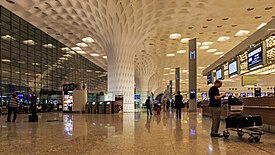 Mumbai 03-2016 114 Airport international terminal interior.jpg