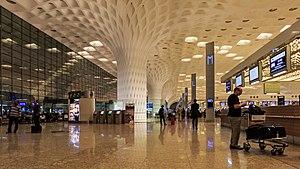 image of Mumbai 03-2016 114 Airport international terminal interior
