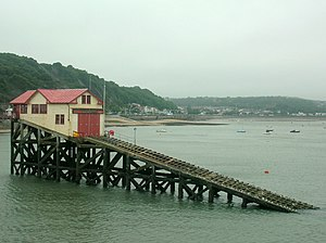 The Mumbles Lifeboat Station - The previous Mumbles Lifeboat Station, used from 1922 to 2014