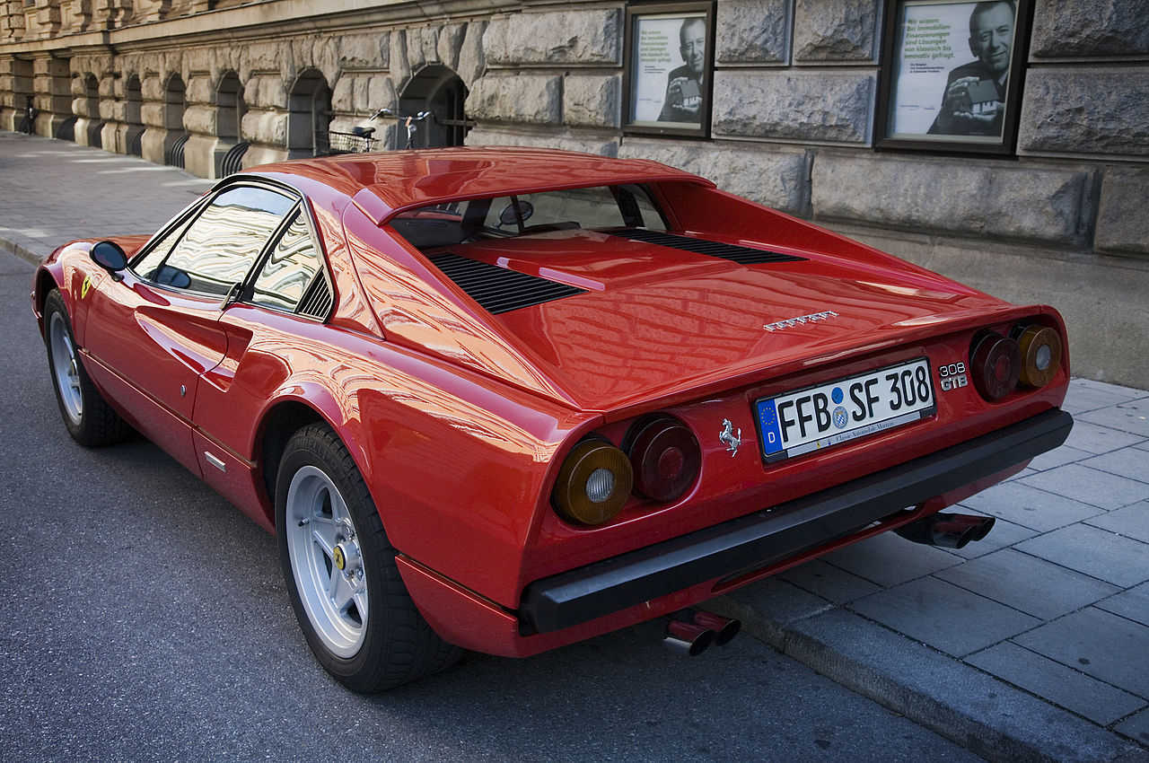 file munich ferrari 308 gtb wikimedia commons. Black Bedroom Furniture Sets. Home Design Ideas