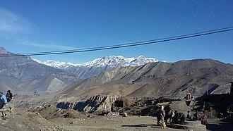 Mustang District - Himalayas in Mustang
