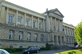 Argeș County - The Argeş County Prefecture building from the interwar period, now the Argeș County museum.