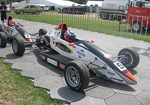 Nick Cassidy - Cassidy placed 14th in the 2011 Australian Formula Ford Championship in a Mygale SJ11a