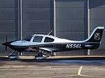 N556L Cirrus SR22 (31355658831).jpg