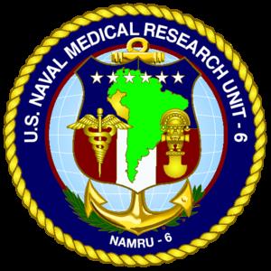 Naval Medical Research Unit Six - Image: NAMRU 6 logo