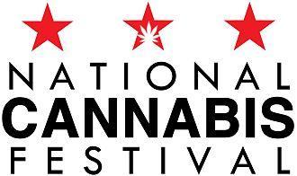 National Cannabis Festival - Image: NCF Logo Web Rez White BG