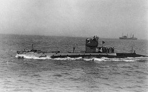 USS H-4 underway, circa 1922