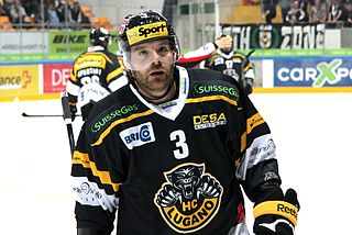 Julien Vauclair Swiss ice hockey defenceman