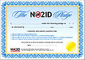 NO2ID Pledge certificate.jpg