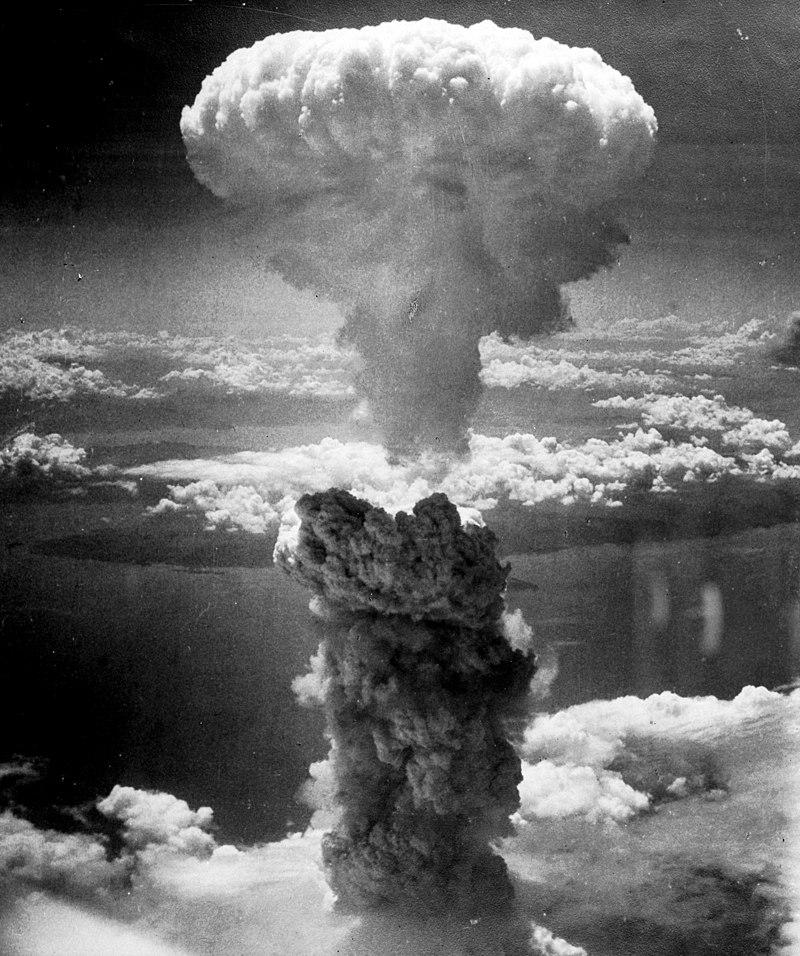 """Il fungo atomico, causato da """"Fat Man"""" su Nagasaki, raggiunse i 18 km di altezza"""