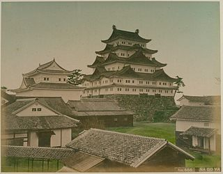 Japanese historical estate in Owari province