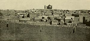 Najaf - View of the city of Najaf, ca. 1914