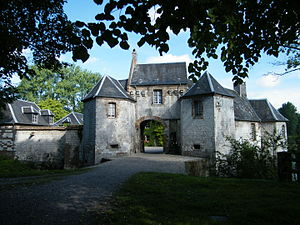 Nampont - Image: Nampont (Somme, Fr), Château fort (4)