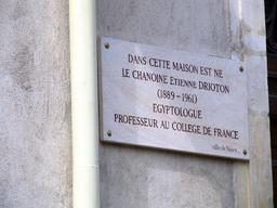 Nancy-etienne-drioton-plaque-commémorative