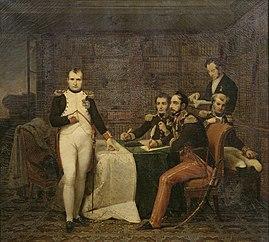 Napoléon Ier dictant ses mémoires