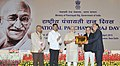 Narendra Modi presented the State (Devolution Index) Awards and E-Panchayat Awards, at the National Panchayati Raj Day function, in New Delhi. The Union Minister for Rural Development, Panchayati Raj (2).jpg