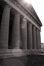 Nashville Parthenon black and white.jpg