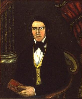 Nathaniel Chipman - Chipman, circa 1800.