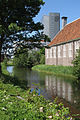 Naturalis Biodiversity Center - Museum - Garden 09 - Pesthuis with ditch and collection tower.jpg